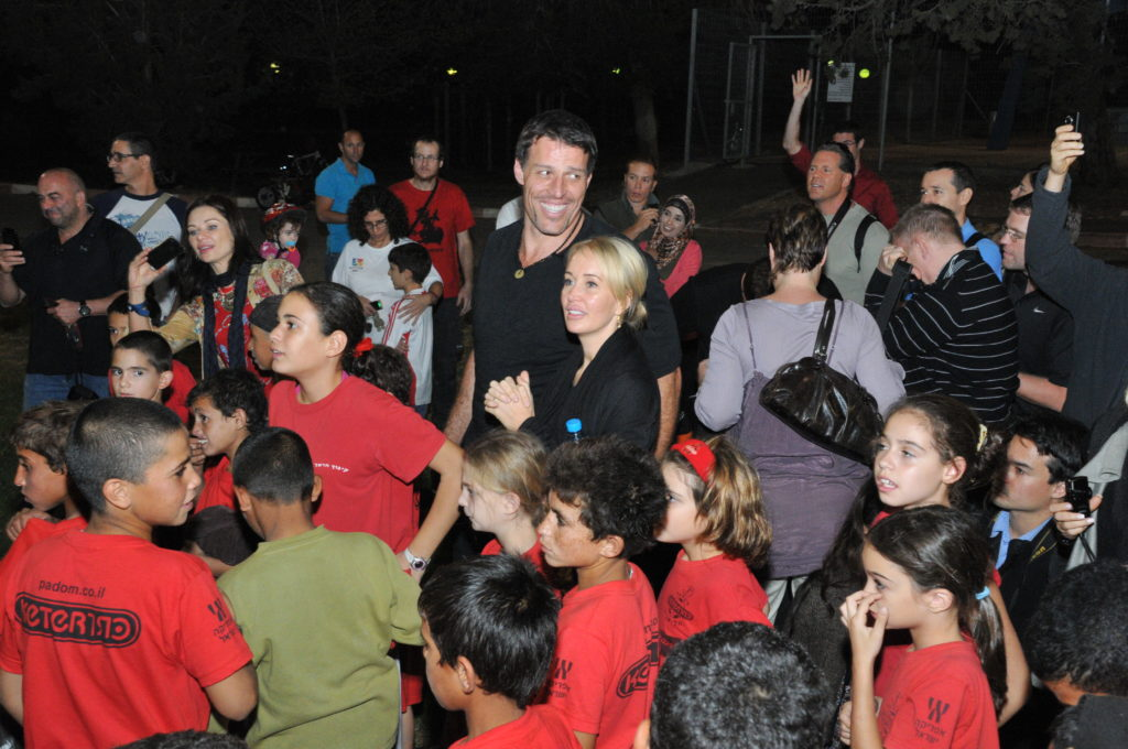 Israel Building a Bridge to Peace with the Children