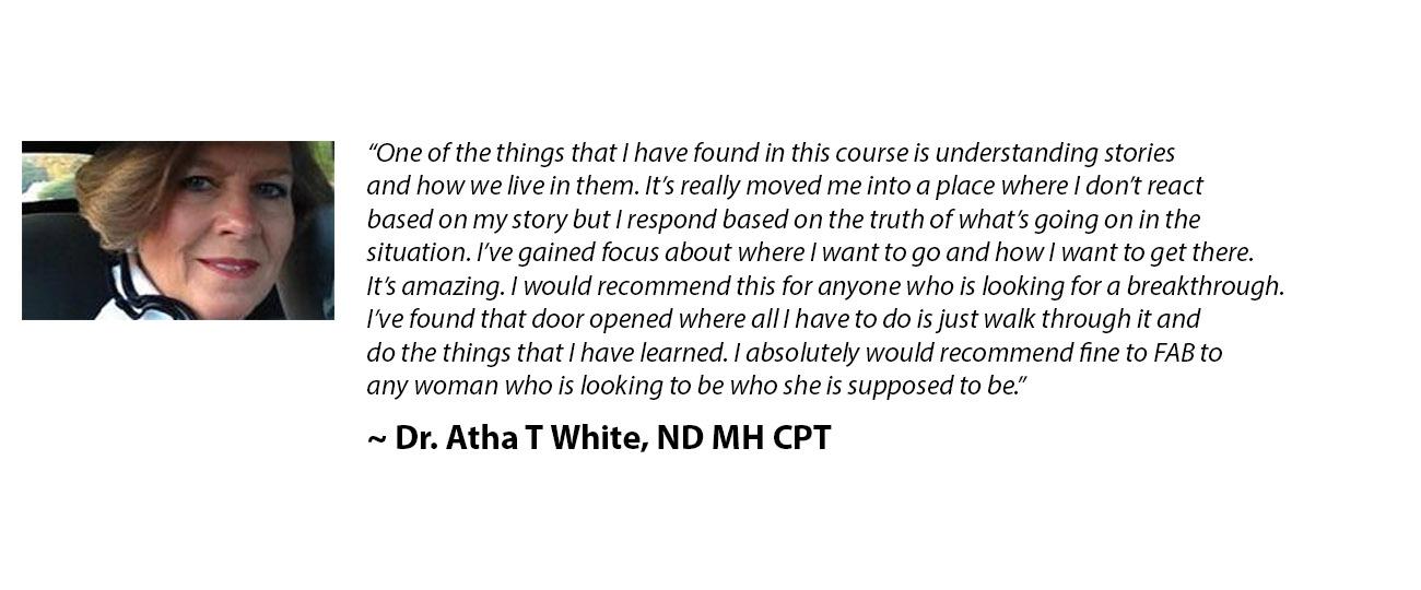 Dr. Atha T White
