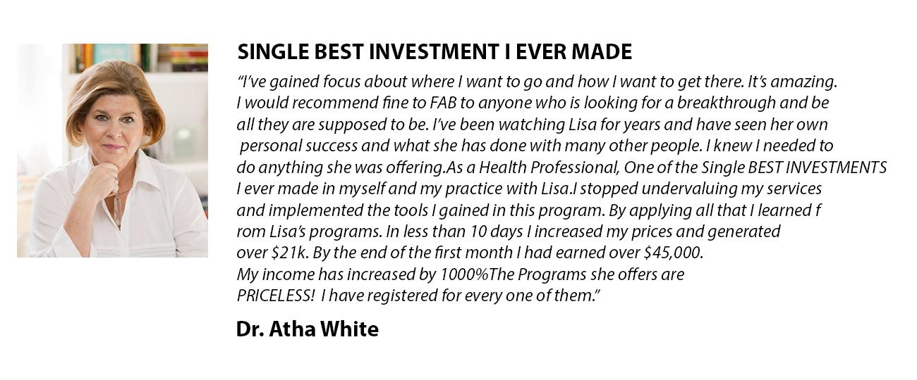 Dr. Atha White